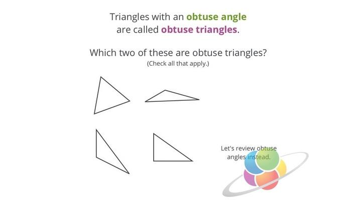 Names of Triangles Based on Angles| School Yourself Geometry