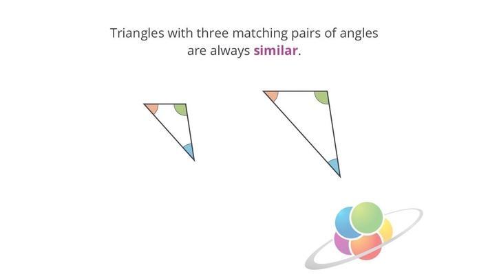 AA Similarity | School Yourself Geometry