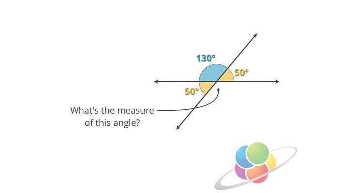Vertical Angles | School Yourself Geometry