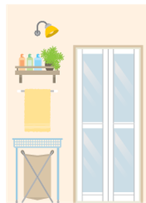 Illustration of Room | Clipart