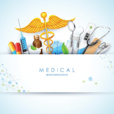 Healthcare and Medical Background | Clipart