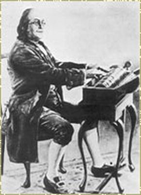 Benjamin Franklin |  Inquiring Mind: Glass Armonica