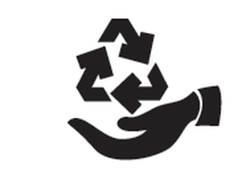 Ecology Design - Black & White - 5 | Clipart