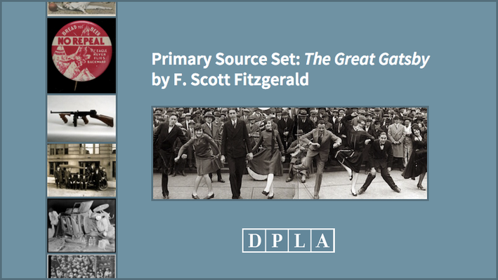 Primary Source Set: The Great Gatsby by F. Scott Fitzgerald