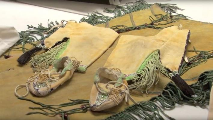 Teri Greeves Shows a Ceremonial Naming Outfit | Craft in America