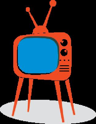 Retro TV Set | Clipart