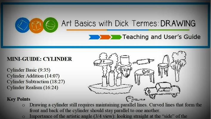 Art Basics with Dick Termes: Drawing | Teaching and User's Guide