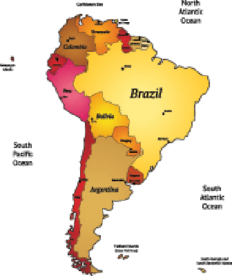 Map of Latin America | Clipart