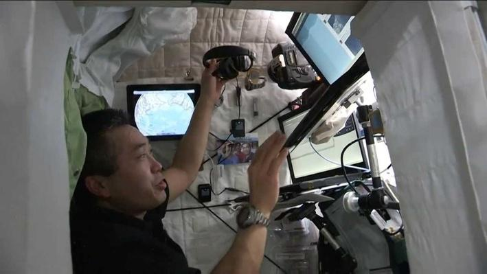 A Bedroom in Space: Crew Quarters Tour Inside the Space Station