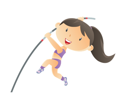 Kids and Sport | Clipart