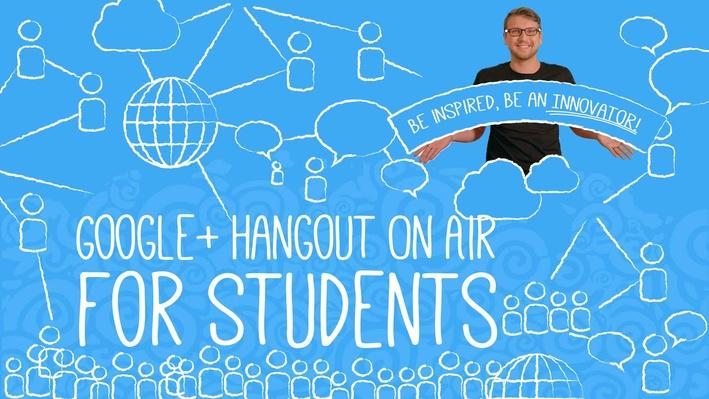 I'm Inspired Google+ Hangout On Air for Students to Innovate!