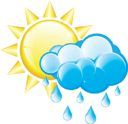 Rain and Sun Icon | Clipart