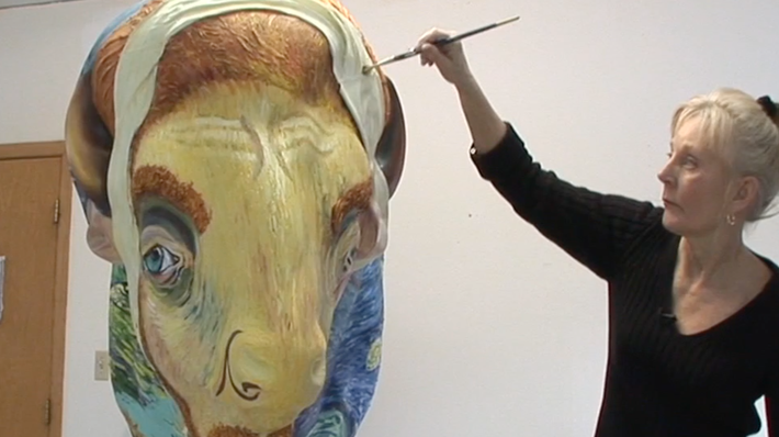 Herd About the Prairie: A Visual Art Stampede | Gogh Bison