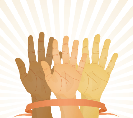Hands Up   Clipart
