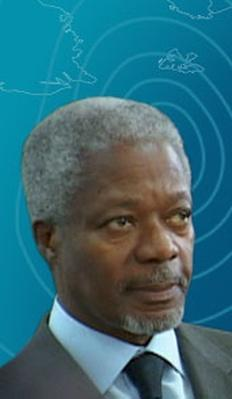 Kofi Annan: Center of the Storm | Visions for a New World
