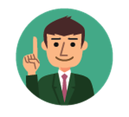Businesspeople Pointing | Clipart