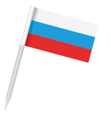 Popular Flags - Russian Federation | Clipart