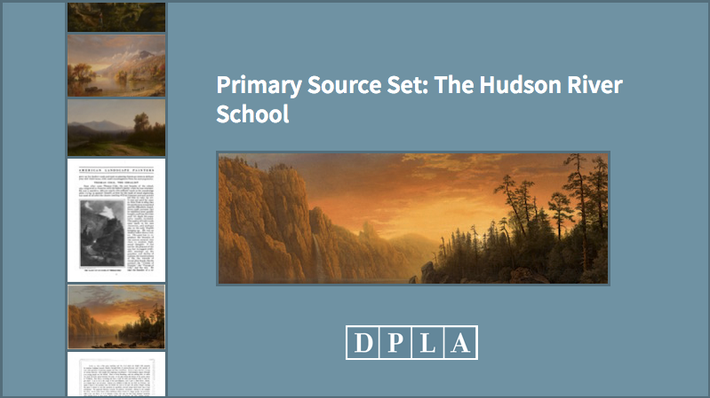 Primary Source Set: The Hudson River School