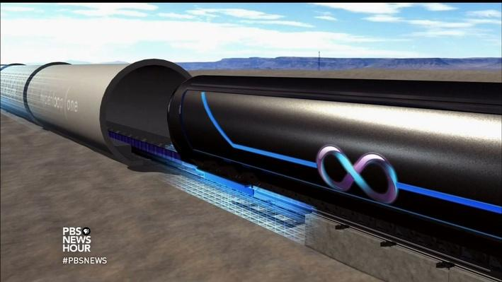 Scientists See Supersonic Hyperloop Trains as Way of the Future Video