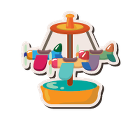 Cartoon Playground Stickers - 9   Clipart