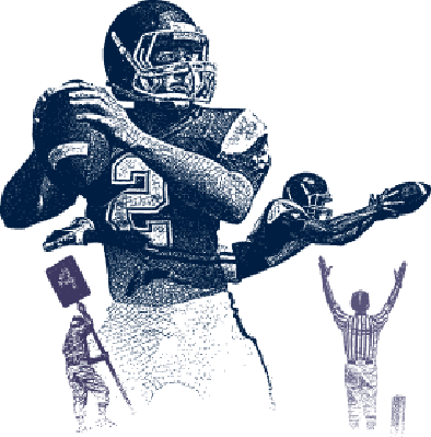 Football Montage | Clipart