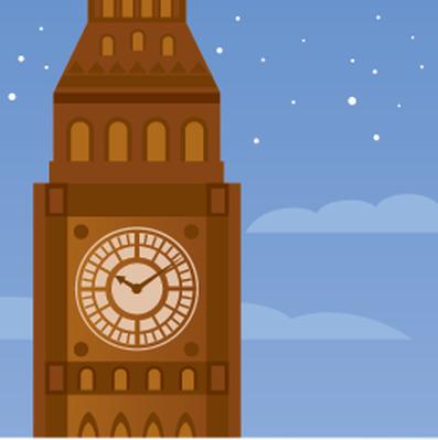 Travel Destinations - Big Ben | Clipart
