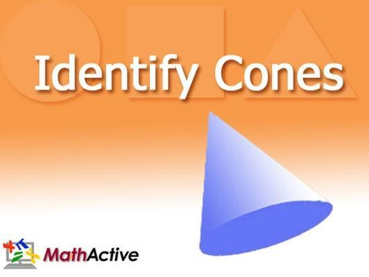Identify Cones | Navajo Voice
