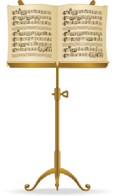 Music Stand | Clipart