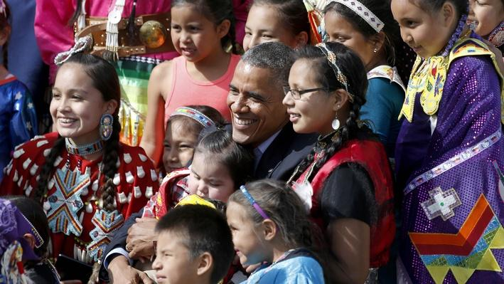 President Obama Visits Standing Rock | Medicine Woman