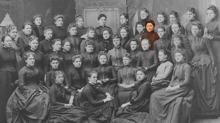 Susan La Flesche Graduates from the Woman's Medical College of Pennsylvania | Medicine Woman