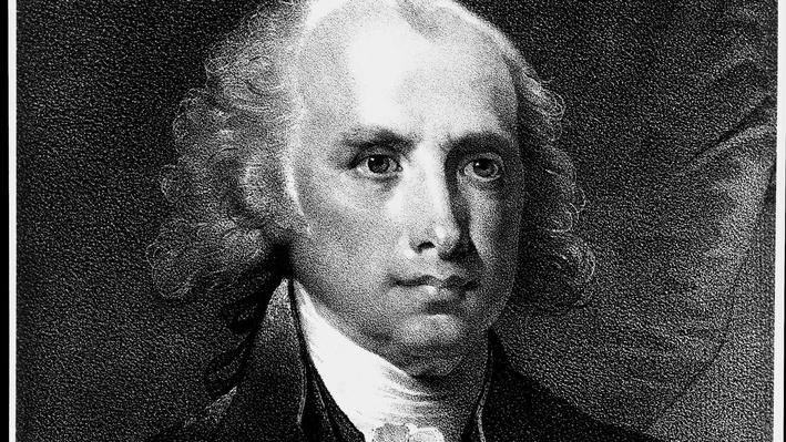 President James Madison Image