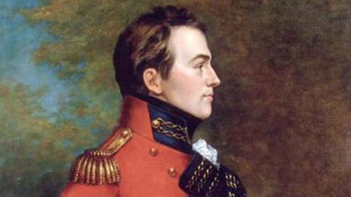 General Isaac Brock Portrait Image
