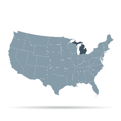 U.S. States - Michigan | Clipart