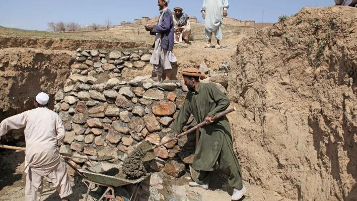 American Military Forces Help Rebuild Afghanistan