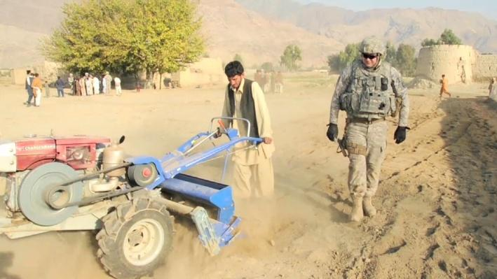 Teaching Agriculture and Business Skills to Afghan People During the War in Afghanistan