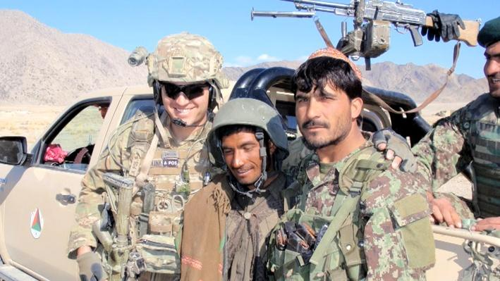 Iowa Soldiers Build Trust with Afghan Soldiers and People