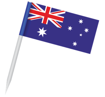 Popular Flags - Australia | Clipart