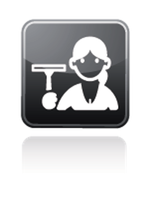 Professions - Cleaner | Clipart