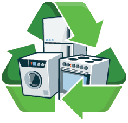 Recycle Large Electronic Appliances | Clipart