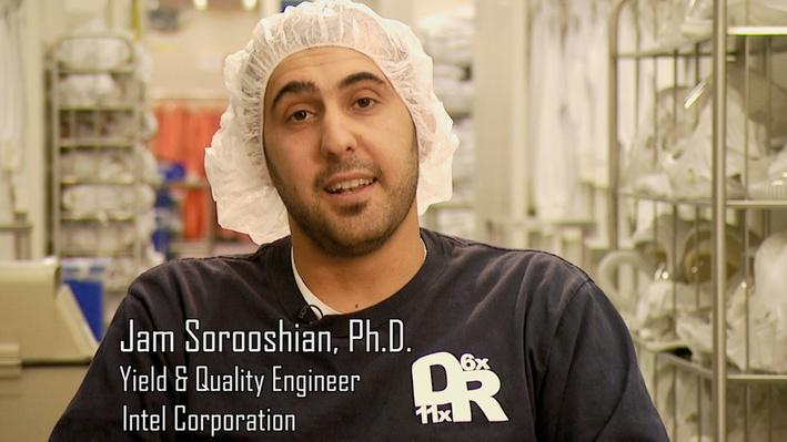 Dr. Jam Sorooshian, Yield & Quality Engineer