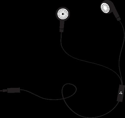 Earphone Symbol | Clipart