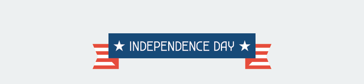 United States of America Independence Day Icon Set | Clipart