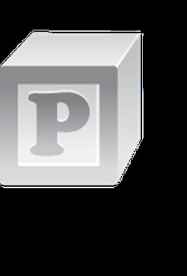 Alphabet Letters: P, Q, R Icon Set | Clipart