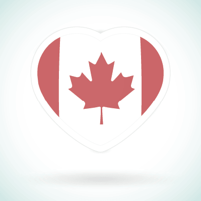 Canadian Heart | Clipart