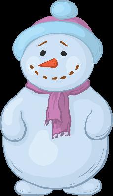 Snowmens Boy | Clipart