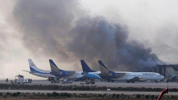 Terrorists Attack Pakistan's Busiest Airport Video
