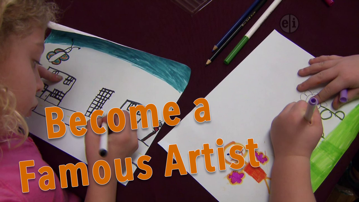 Read a Good Book: Famous Artists | KIDS Clubhouse Adventures