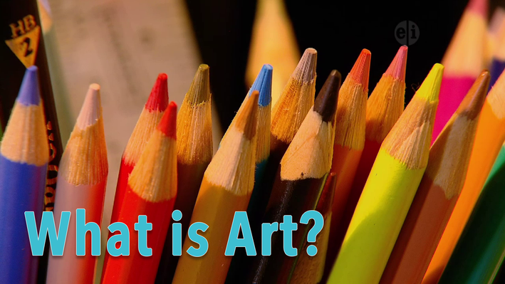 Image of colored pencils, What is Art?