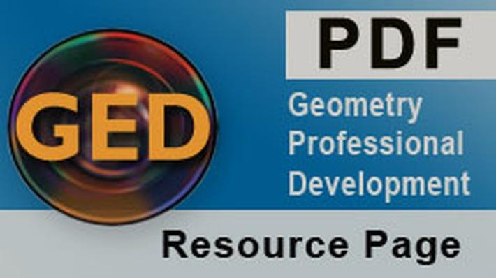 GED® Geometry Professional Development Course Glossary