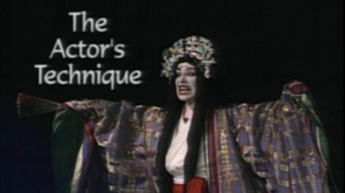 Japanese Culture: Kabuki Actor's Technique